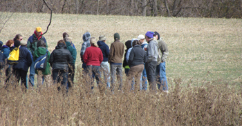 Cover Crops Field Day held on Henning's Farm in 2012