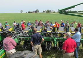 Planter at Mueller Farm Field Day