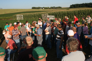 Field Day held on Ronsiek Farm in 2009