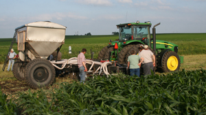 Strip-Till Equipment at Field Day held on Vaske Farm