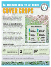 talking with your tenant series featuring cover crops