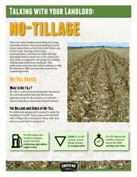 talking with your landlord series featuring no-till